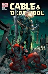 Cable/Deadpool #14. Marvel Comics. Art by Mark Brooks.