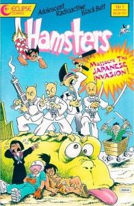 Adolescent Radioactive Blackbelt Hamsters #1. Eclipse. Art by Stan Sakai.