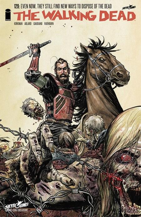 Walking Dead #129 SDCC 2014