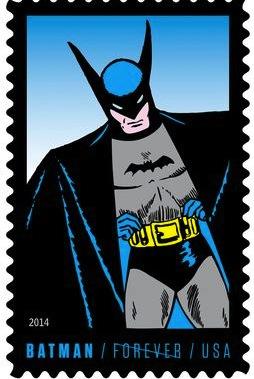 Batman-stamp-Golden-Age
