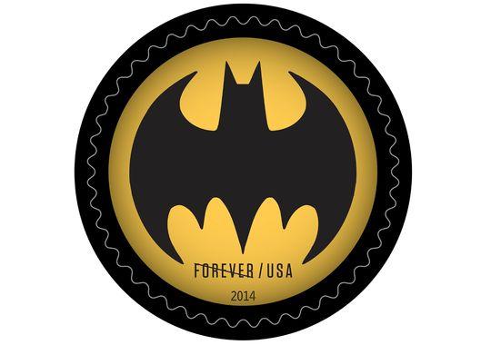 Batman-symbol-stamp