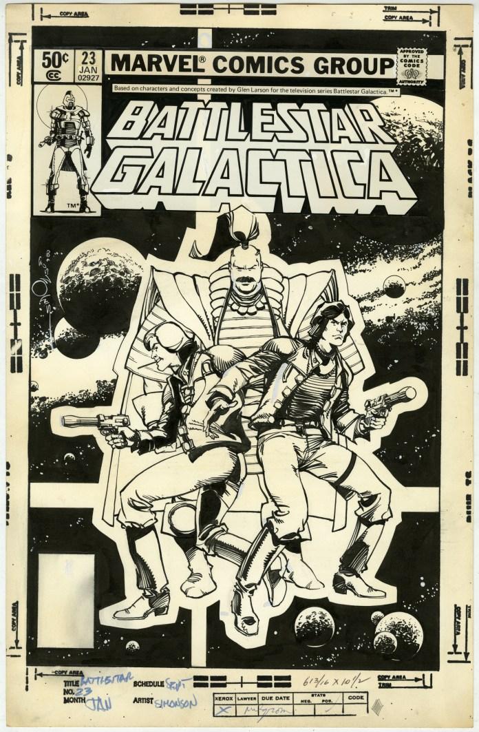 BATTLESTAR GALACTICA 23 Cover.WMS