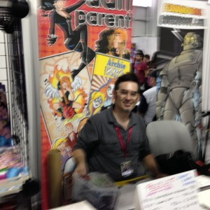 Artist Dan Parent and some of his work for Archie.