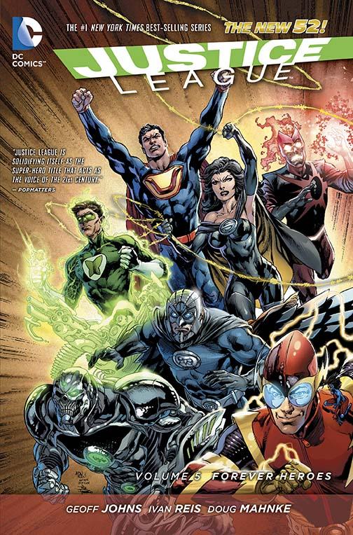 JL v5 forever heroes cvr
