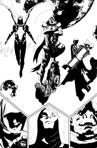 All New X-Men #38 Interior Art by Andrea Sorrentino