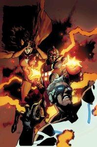 Uncanny Avengers #4 Cover, Art by Leinil Yu