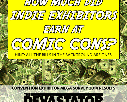 The Devastator/Beat Convention Exhibitor Survey is out: which cons are loved, which are hated