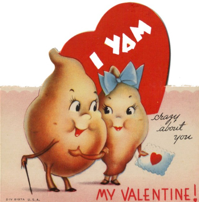 Vintage-I-Yam-Crazy-About-You-Valentines-Day-Card-640x651