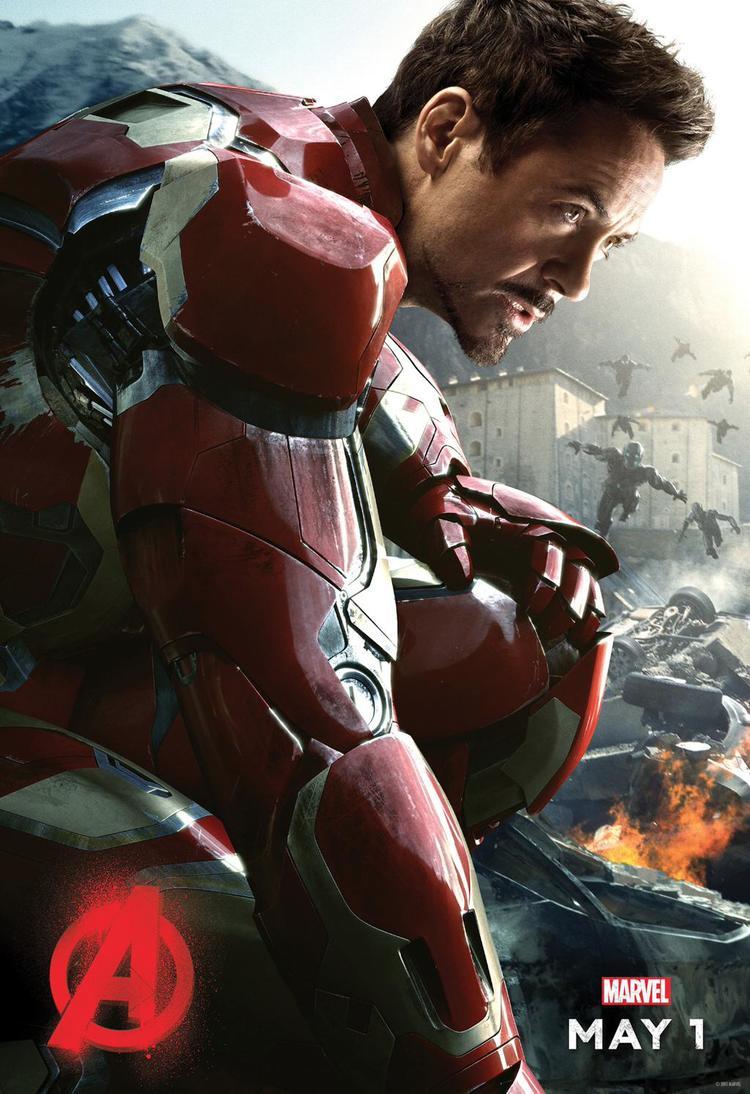 downey avengers 2 poster