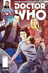 Ninth Doctor issue 1 cover