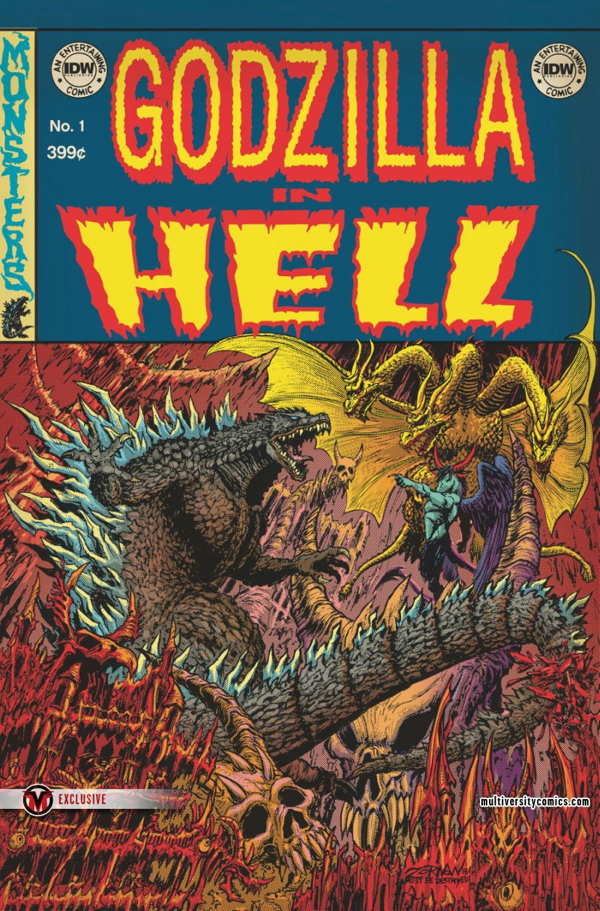 Godzilla-in-Hell-1-Variant-Cover