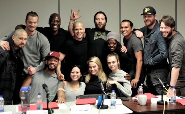 Suicide Squad cast read through