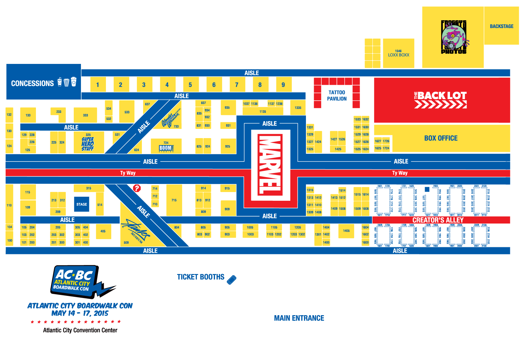 100 Anaheim Convention Center Floor Plan