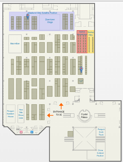 BookCon2015 map