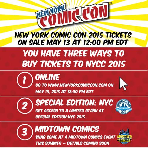 NYCC 2015 sales
