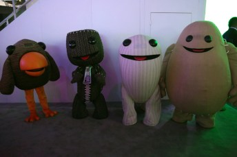 The cast of Little Big Planet 3