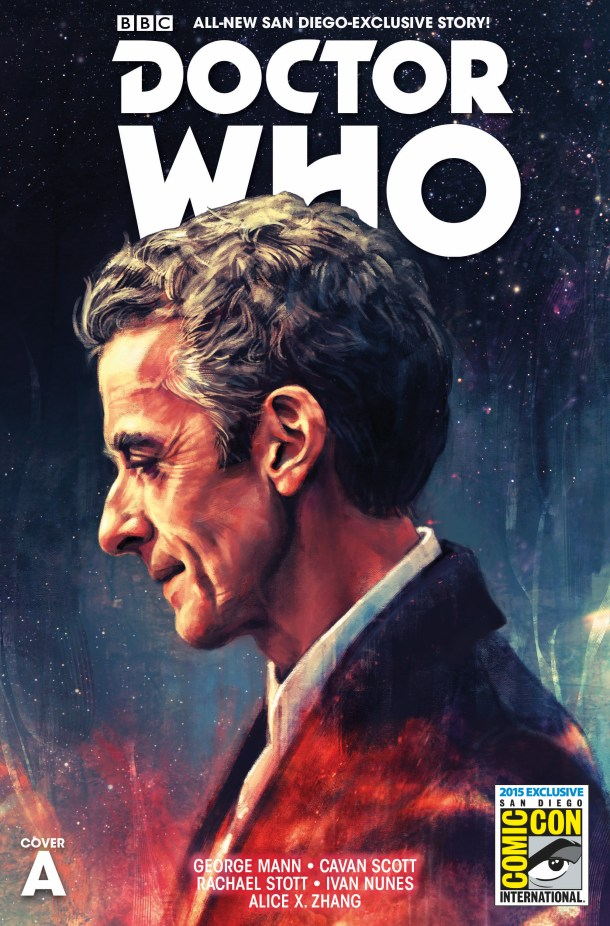 COVER A -DOCTOR WHO THE TWELFTH DOCTOR SDCC EXCLUSIVE