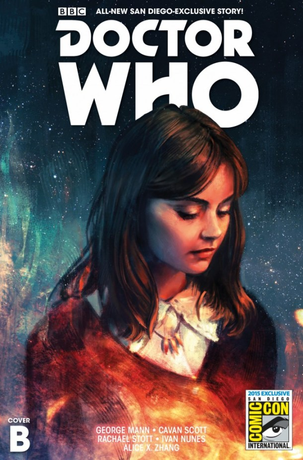 COVER B -DOCTOR WHO THE TWELFTH DOCTOR SDCC EXCLUSIVE