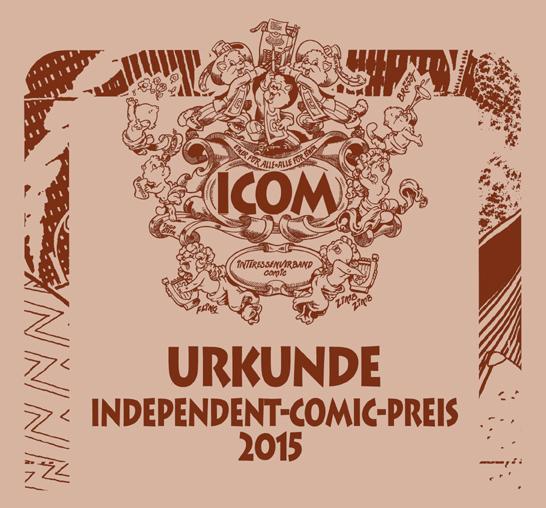 ICOM Urkunde_2015