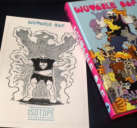 Isotope Exclusive - Wuvable Oaf Bookplate