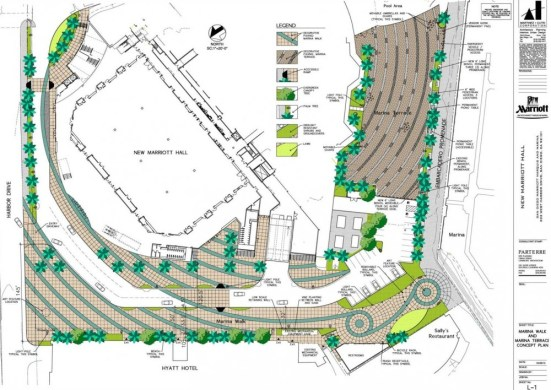 San Diego Marriott Hall concept_plan