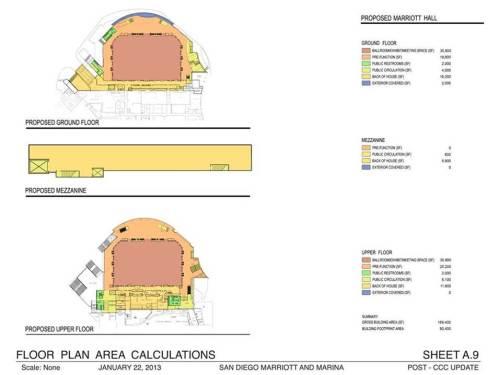 San Diego Marriott Hall proposed_floor_plan