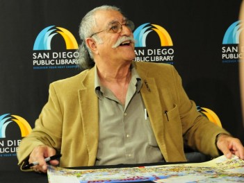 Sergio Aragones, looking friendly as always
