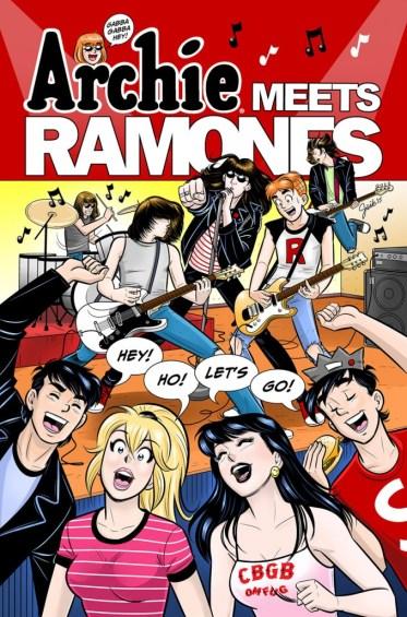 Archie Meets the Ramones (courtesy of Comics Alliance)