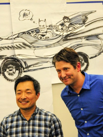Jim Lee and Nathan Sawaya