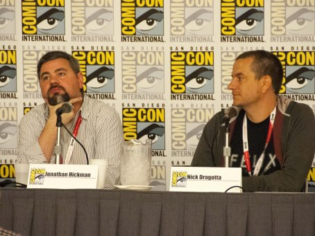 "Writer Jonathan Hickman and Artist Nick Dragotta (""East of West"")"