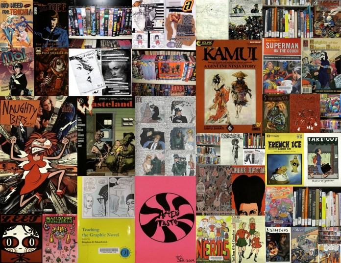 SDSU comics collage 50