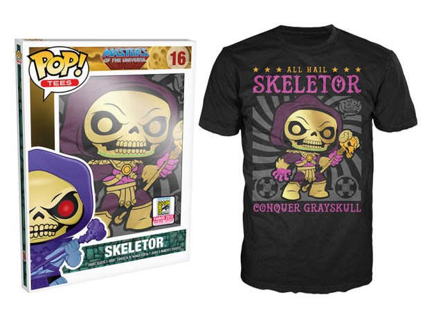 Pop! Tees: Masters of the Universe - Disco Skeletor