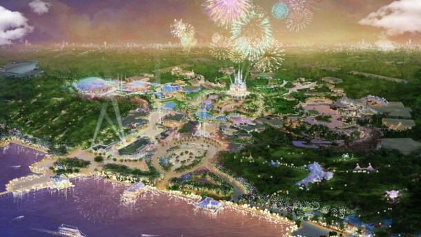 shanghai disneyland resort-map4