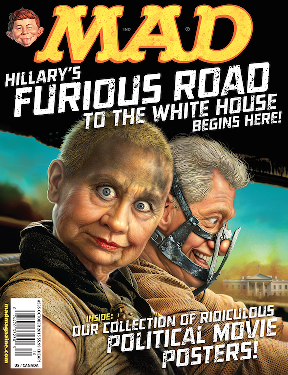 MAD Magazine Hillary Clinton Cover