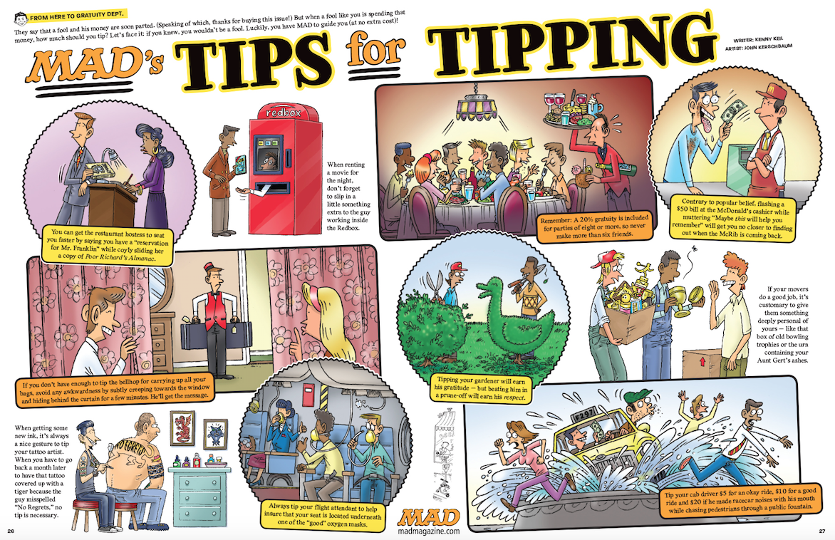 Mad Tips for Tipping