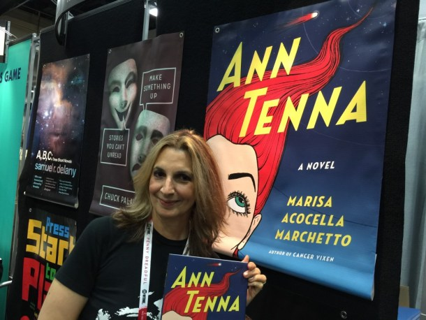 Marisa Acocella Marchetto at San Diego Comic-Con 2015
