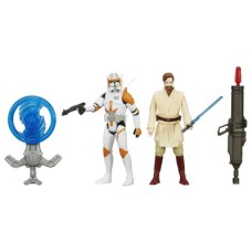 STAR WARS TFA 3.75IN Figure 2-Pack_Commander Cody Obi Wan