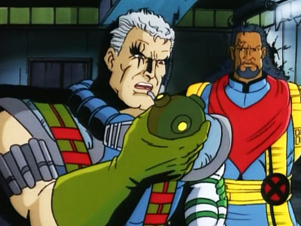 x-men-animated-series-season-2-8-time-fugitives-part-2-bishop-cable