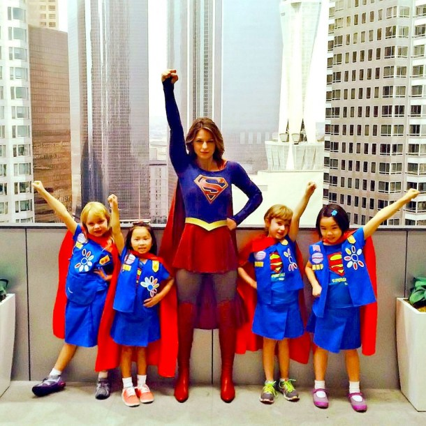 supergirl girl scouts