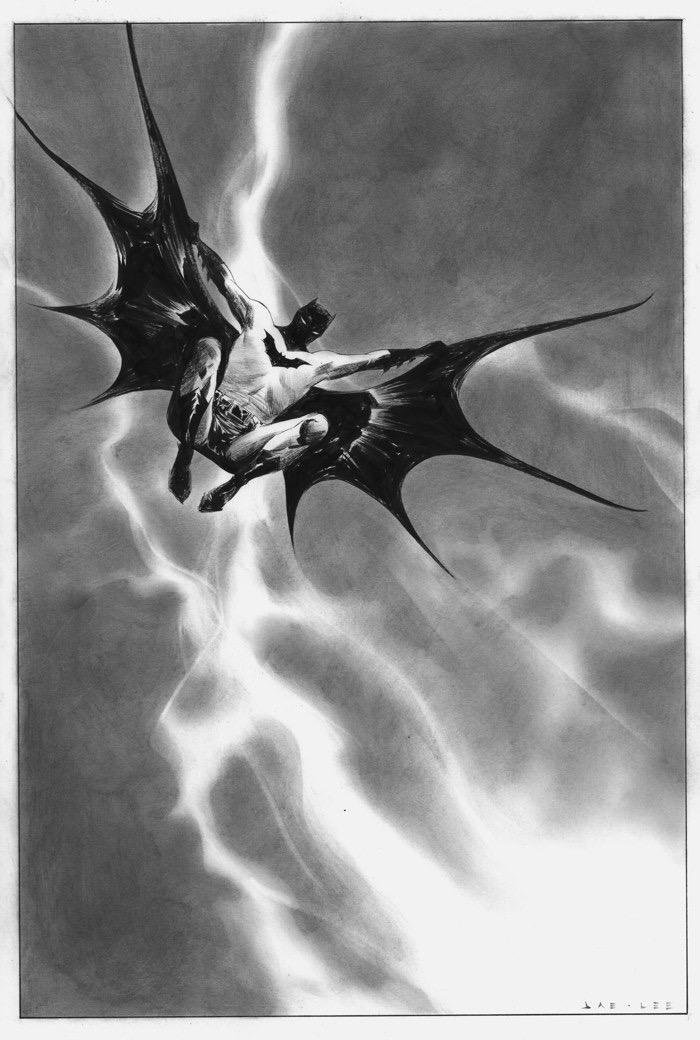 Jae Lee Dark Knight III #1 Original Art.jpg