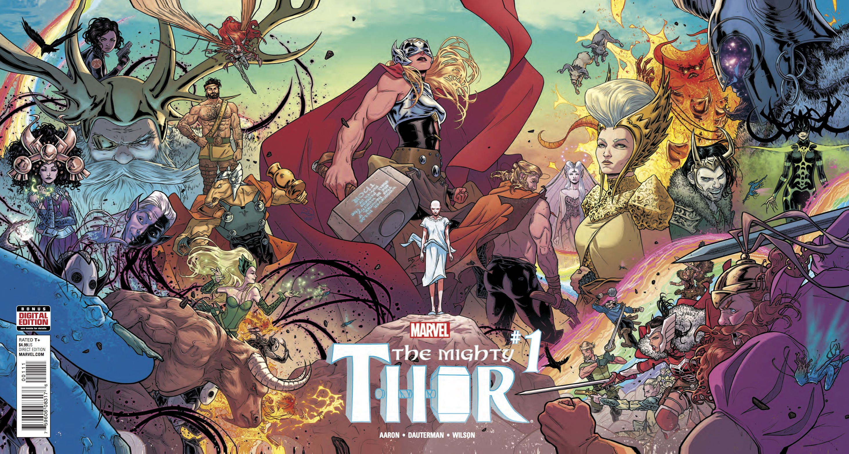 Review: THE MIGHTY THOR #1 Hammer Beats Everything - The Beat