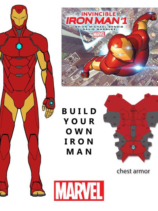 build your own iron man