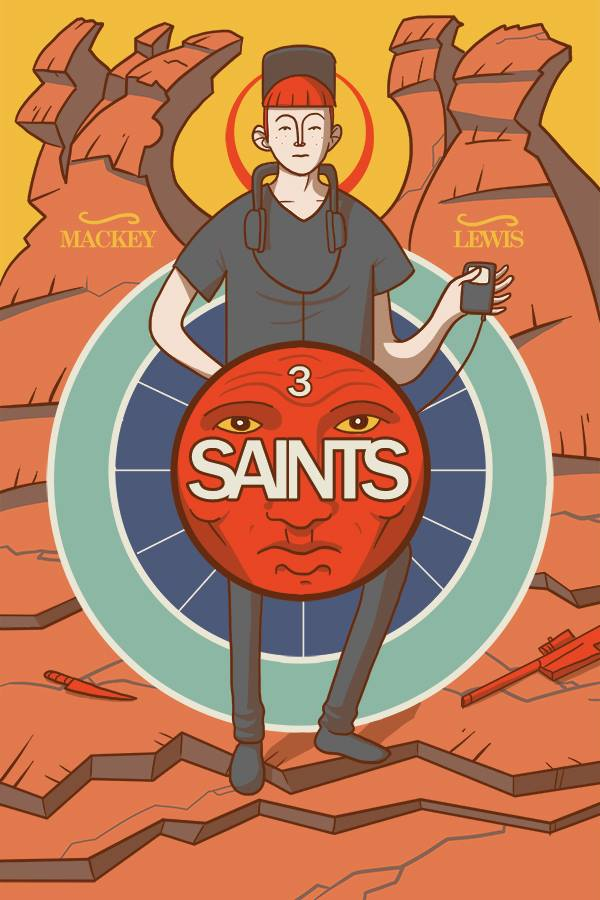 'Saints' cover art issue #3 by Ben Mackey