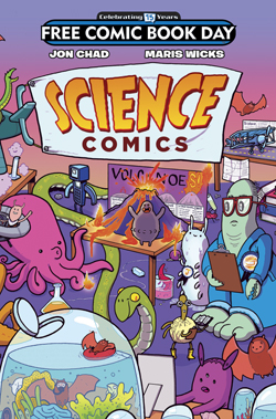 FIRST SECOND - SCIENCE COMICS FCBD 2016