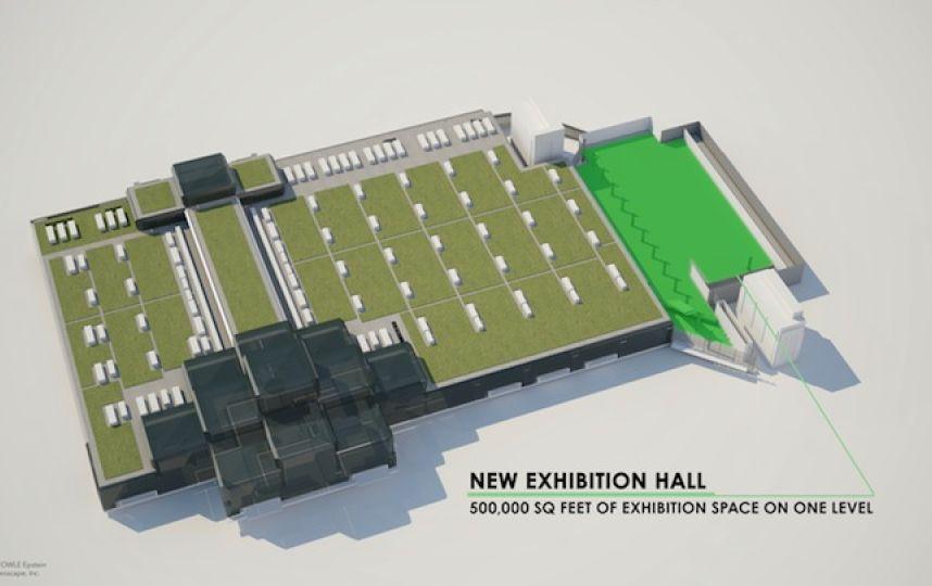 javits expansion exhibit 2015