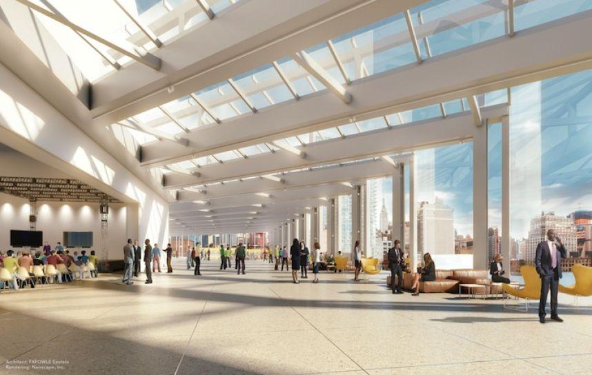 javits expansion interior 2015