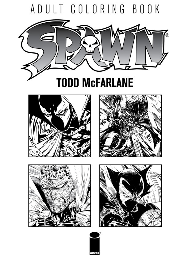 Spawn Wants You To Stay Inside The Lines With New Adult Coloring