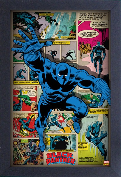 Pyramid_11x17 Black Panther - Retro_Gel-Coat Wall Art_Spring 2016.jpg