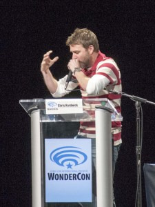"""Chris Hardwick belting his rendition of """"The Children are our Future"""""""