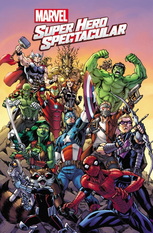 Coming Attractions  Marvel Announces New Titles for the 2016 ... b3a3ceda0406